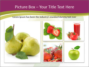 Three Ripe Pears PowerPoint Templates - Slide 19