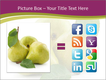 Three Ripe Pears PowerPoint Templates - Slide 21