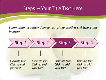 Three Ripe Pears PowerPoint Templates - Slide 4