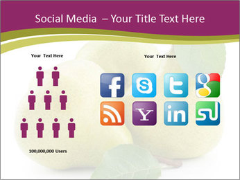 Three Ripe Pears PowerPoint Templates - Slide 5