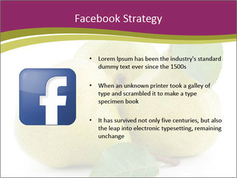 Three Ripe Pears PowerPoint Templates - Slide 6