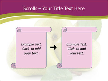 Three Ripe Pears PowerPoint Templates - Slide 74