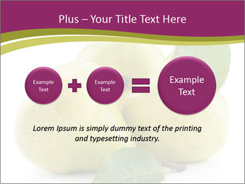 Three Ripe Pears PowerPoint Templates - Slide 75