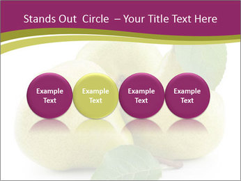 Three Ripe Pears PowerPoint Templates - Slide 76