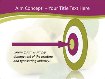 Three Ripe Pears PowerPoint Templates - Slide 83