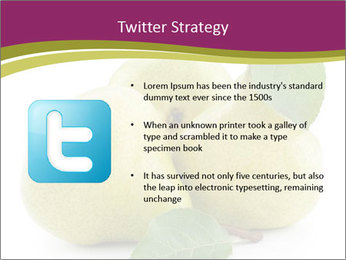 Three Ripe Pears PowerPoint Templates - Slide 9