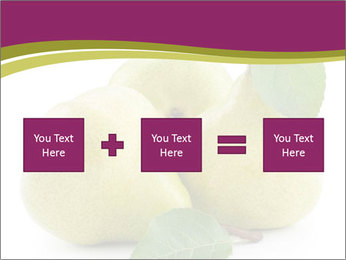 Three Ripe Pears PowerPoint Templates - Slide 95