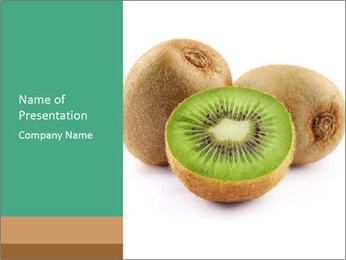 Green Kiwi PowerPoint Templates - Slide 1