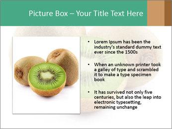 Green Kiwi PowerPoint Templates - Slide 13