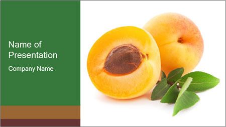 Honeyed Apricot PowerPoint Template
