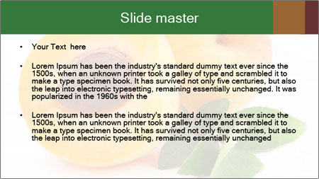 Honeyed Apricot PowerPoint Template - Slide 2