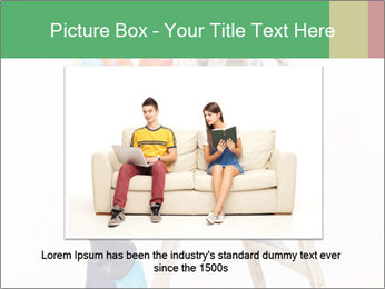 Couple Paints Walls Together PowerPoint Template - Slide 16