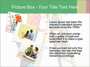 Couple Paints Walls Together PowerPoint Template - Slide 17