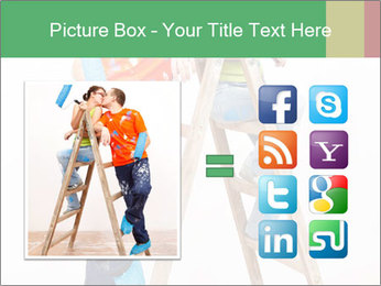 Couple Paints Walls Together PowerPoint Template - Slide 21