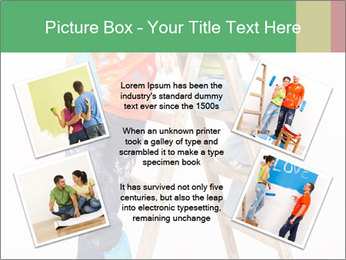 Couple Paints Walls Together PowerPoint Template - Slide 24