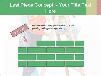 Couple Paints Walls Together PowerPoint Template - Slide 46