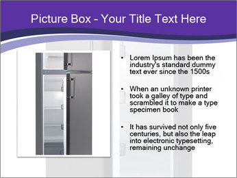 Black Fridge PowerPoint Template - Slide 13