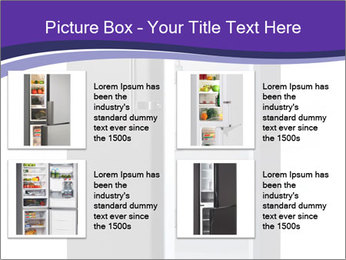 Black Fridge PowerPoint Template - Slide 14
