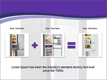 Black Fridge PowerPoint Template - Slide 22