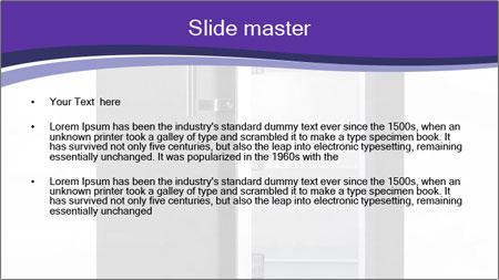 Black Fridge PowerPoint Template - Slide 2