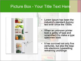 Stocked Fridge PowerPoint Template - Slide 13