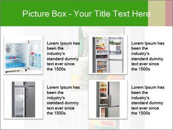 Stocked Fridge PowerPoint Template - Slide 14