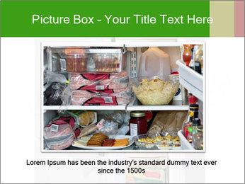 Stocked Fridge PowerPoint Template - Slide 16