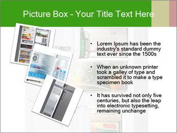 Stocked Fridge PowerPoint Template - Slide 17