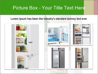 Stocked Fridge PowerPoint Template - Slide 19