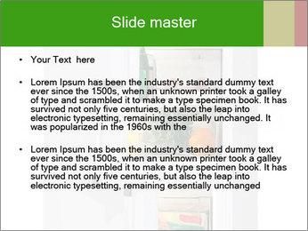 Stocked Fridge PowerPoint Template - Slide 2