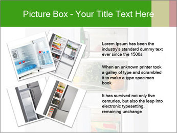 Stocked Fridge PowerPoint Template - Slide 23