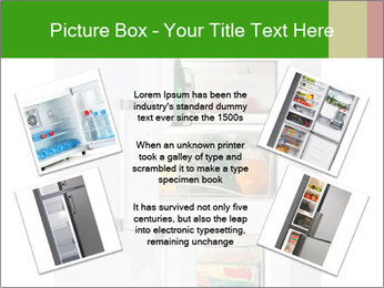 Stocked Fridge PowerPoint Template - Slide 24