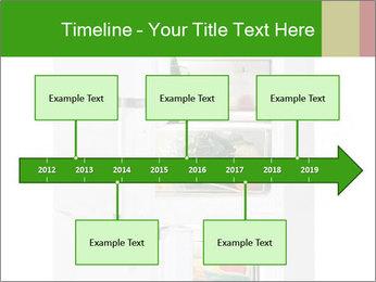 Stocked Fridge PowerPoint Template - Slide 28
