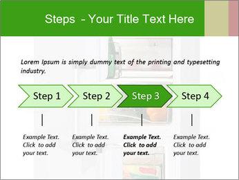 Stocked Fridge PowerPoint Template - Slide 4