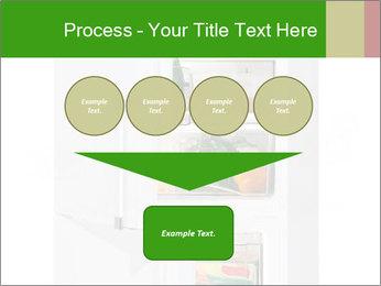 Stocked Fridge PowerPoint Template - Slide 93