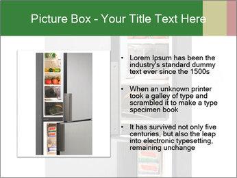 Open Fridge PowerPoint Templates - Slide 13