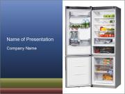 Full Refrigerator PowerPoint Templates