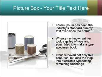 Scissors and Bobbins PowerPoint Template - Slide 13