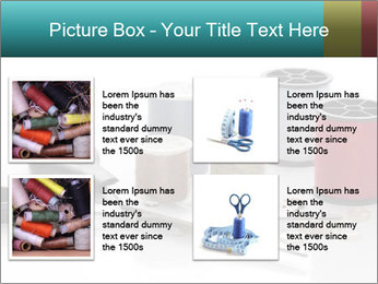 Scissors and Bobbins PowerPoint Template - Slide 14