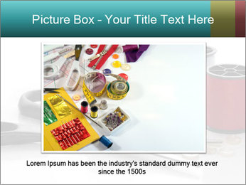 Scissors and Bobbins PowerPoint Template - Slide 16