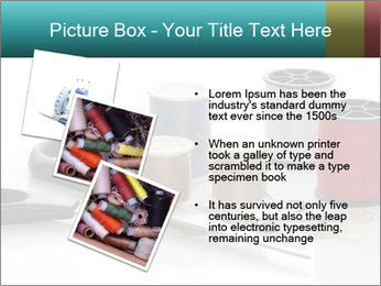 Scissors and Bobbins PowerPoint Template - Slide 17