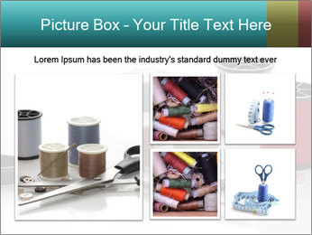 Scissors and Bobbins PowerPoint Template - Slide 19