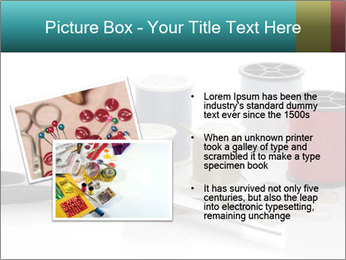 Scissors and Bobbins PowerPoint Template - Slide 20