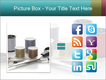 Scissors and Bobbins PowerPoint Template - Slide 21