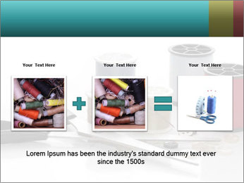Scissors and Bobbins PowerPoint Template - Slide 22