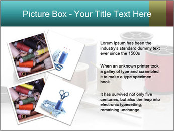 Scissors and Bobbins PowerPoint Template - Slide 23