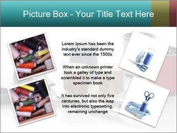 Scissors and Bobbins PowerPoint Template - Slide 24
