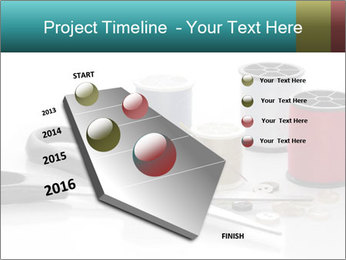 Scissors and Bobbins PowerPoint Template - Slide 26