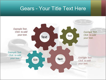 Scissors and Bobbins PowerPoint Template - Slide 47