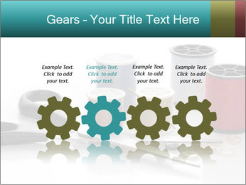 Scissors and Bobbins PowerPoint Template - Slide 48